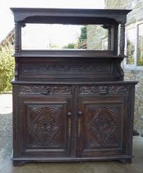Antique John Widdicomb Dresser by Antique French Gothic Oak Sideboard Dresser 5ft Green Man Hand