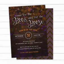 Scary Godmother Halloween Spooktacular Cast by Boos And Booze Halloween Party Invitation Halloween