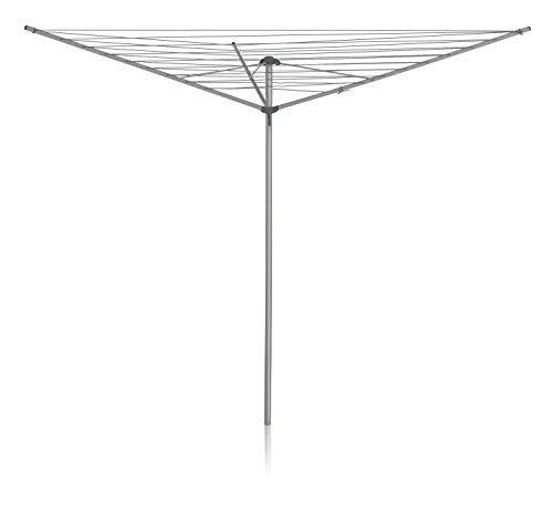 Addis 3-arm Outdoor Rotary Airer - Silver, 3m