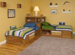 Elegant Corner Twin Beds 17 Best Ideas About Corner Twin Beds