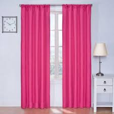 eclipse kendall blackout raspberry curtain panel 84 in length