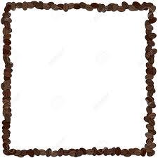 Coffee Bean Frame Stock Photo
