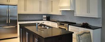 backsplash tile with black granite countertops kitchen ideas white