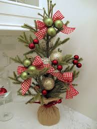 Types Of Christmas Trees To Plant by Best 25 Tabletop Christmas Tree Ideas On Pinterest Small
