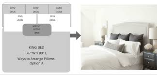 You Can Also Enhance The Beauty Of This Pillow Arrangement With Help Decorative Pillows Placed In Front Five Setting