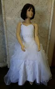 girls ball gown flower dress