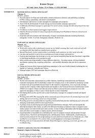 Social Media Specialist Resume Samples | Velvet Jobs Social Media Manager Resume Lovely 12 Social Skills Example Writing Tips Genius Pdf Makeover Getting Riley A Digital Marketing Job Codinator Objective 10 To Put On Letter Intern Samples Velvet Jobs Luxury Milton James Template Workbook Package Ken Docherty Computer For Examples Floatingcityorg Write Cover Career Center Usc