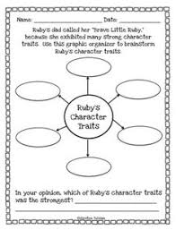 This Ruby Bridges File Contains Three Pages Of Character Traits Information Printables It Is Perfect For Use Any Time Year And Particularly Timely