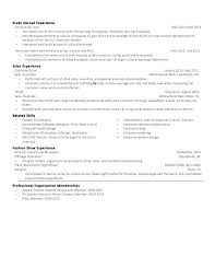 Study Abroad Resume Example With Experience Free Advisor Sample