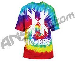 hk army tie dye dry fit t shirt