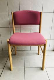 4 stühle wohnzimmer esszimmer holz pink rosa