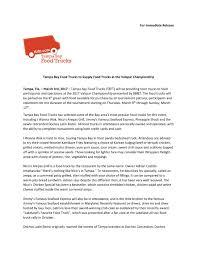 100 Food Trucks In Tampa Bay Truck Rally Mar 4 Valspar Championship