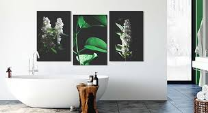 badezimmer deko für ihre wand moderne wanddekorationen