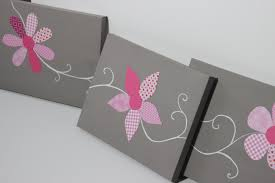 cuisine indispo tableau triptyque fleurs roses et gris x cm déco