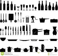 ustenciles de cuisine ustensile de cuisine illustration de vecteur illustration du