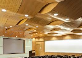 Rulon Suspended Wood Ceilings by Baylor University Medical Center Rulon International Inc