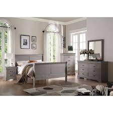 Wohndesign Schön Grey Bedroom Furniture Set Throughout Best