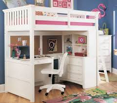 Ikea Full Size Loft Bed by White Chelsea Vanity Loft Full Size Bunk With Desk Plans Combo