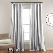 Pottery Barn Curtains Grommet by Half Moon Wilbur Window Curtain Set Hayneedle