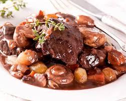 cuisiner le boeuf recette boeuf bourguignon facile et rapide