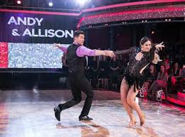 Andy Grammer And Allison Holker Perform During Dancing With The Stars On Monday