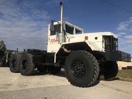 M818 Military 6X6 5 Ton 6X6 Semi Truck SOLD - Midwest Military Equipment