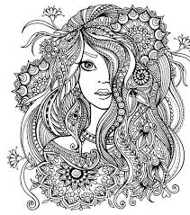 Antistress Coloring Zentangle Designs Pages Mandala