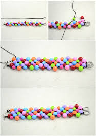 How To Bead A Woven Bracelet Handmade Beaded Bracelets Out Of Affordable Jewelry Making Step 4