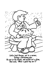 Nursery Rhymes Printable Coloring Book Pages For Kids