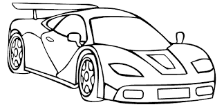 Cute Coloring Pages Race Cars