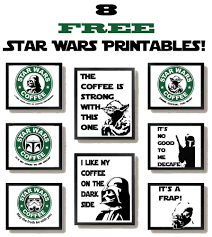 Star Wars Printable Pumpkin Carving Templates by Free Star Wars Printables With A Coffee Theme Coffee Theme