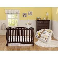 amazon com 3pc baby boy gray yellow owl polka dot crib set