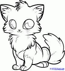 How To Draw An Anime Fox Step By Animals New Baby Coloring Pages