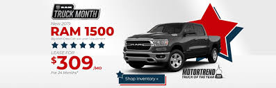 100 Dodge Truck Leases New Chrysler Jeep RAM FIAT Specials In Crawfordsville
