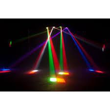 American DJ Double Phase LED Mirrored Beam Lighting from ADJ