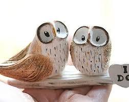 Unique Owl Cake Topper