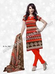 Neck Type Cotton Salwar Kameez