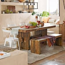 View In Gallery Dining Room With A Reclaimed Wood Table