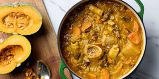 Traditional Haitian Pumpkin Soup Recipe by Haitian Soup Joumou Recipe And History Epicurious Com