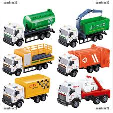 100 Toy Car Carrier Truck 143 Rier Vehicle Garbage Diecasts Children Vehicles