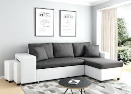 canapé gris et blanc pas cher canape gris et blanc convertible but dangle pas cher