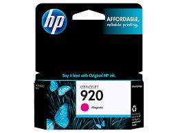 Close HP 920 Magenta Original Ink Cartridge