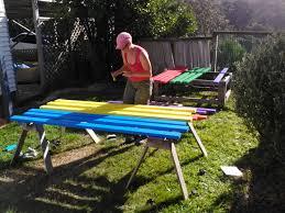 The Dump Patio Furniture by Diy Rainbow Outdoor Furniture Album On Imgur