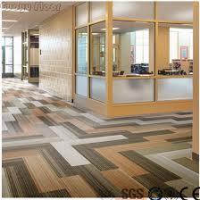 Carpet Pattern High Quality Vinyl Floor Tiles Self Adhesive