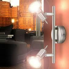 beleuchtung wohnzimmer beweglich 2x gu10 wand leuchte 2 flg