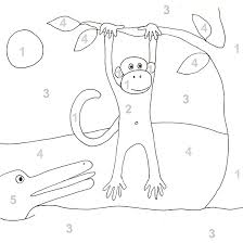 Color By Number And More Printable Coloring Pages