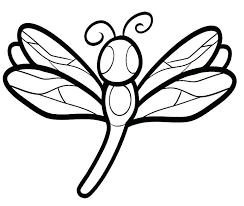 Dragonfly Coloring Pages For Adult Cute