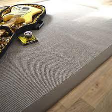 tapis coton tisse a plat tapis tissé plat mahé silver gris ganse coton taupe salon