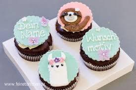 cupcake dekoration wunschmotiv
