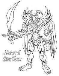 Exceptional Yugioh Coloring Pages 2